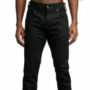 True Religion Rocco Skinny Blackout Jean Nightfall